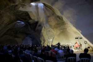 הרקוויאם של מוצרט במערת הפעמון בית ג'וברין - יולי 2019